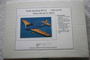 BELBK3 - Belcher Bits 1/48 North American BT-14 (Occidental Harvard II w/ resin convers)