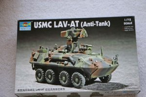 TRP07271 - Trumpeter 1/72 USMC LAV-AT Anti-Tank