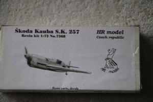 HRM7368 - HR Model 1/72 Skoda Kauba S.K. 257 Reszin Kit