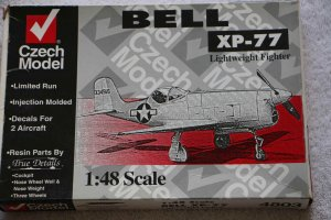 CZE4803 - CZECH Model 1/48 Bell XP-77 Lightweight Fighter