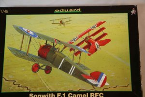 EDU8057 - Eduard Models 1/48 Sopwith F.1 Camel RFC