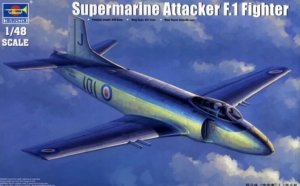 TRP02866 - Trumpeter 1/48 Supermarine Attacker F.1 Fighter