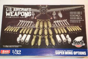 ZOUSWS03M01 - Zoukei-Mura 1/32 U.S. Aircraft Weapons Set