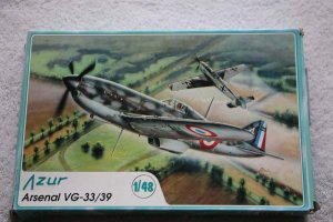 AZUA018 - Azur Models 1/48 Arsenal VG-33/39