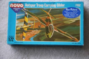 NPKF152 - Novo Plastic Kits 1/72 Hotspur Troop Carrying Glider