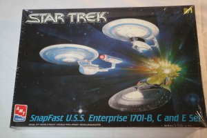 AMT8002 - AMT U.S.S. ENTERPRISE NCC 1701-B, C & D set