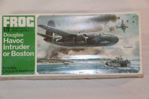 FRGF208 - Frog 1/72 Douglas Havoc Intruder or Boston