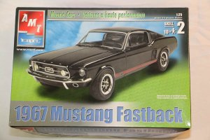 AMT31550 - AMT 1/25 67 Mustang Fastback 'Muscle Car'
