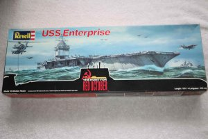 RMX4008 - Revell 1/720 USS Enterprise 'The Hunt for Red October'