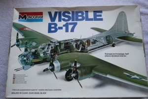 MON5620 - Monogram 1/48 Visible B-17 Moulded in clear