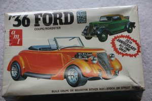 AMTA136 - AMT 1/25 36 Ford Coupe/Roadster