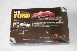 UPMMC09-1500 - Union Plastic Model 1/25 48 Convertible Ford