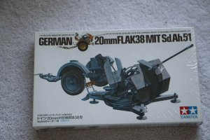 TAM35102 - Tamiya 1/35 German 20mm Flak 38