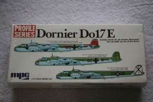 MPC2-1513-150 - MPC 1/72 Profile Series Dornier Do17E