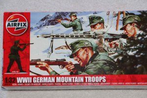 AIR04713 - Airfix 1/32 WWII German Mountain Troops