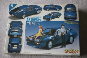 FUJ09119 - Fujimi 1/20 Evangelion A310 V6 2015 Type with Shinji & Asuka