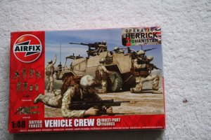 AIR03702 - Airfix 1/48 British Vehicle Crew Afghanistan