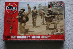 AIR03701 - Airfix 1/48 British Infantry Patrol Afghanistan