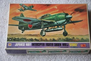 OTAOT2-7-200 - OTAKI 1/48 Japanese Navy Intercepter Fighter Shiden N1K1J 'George'