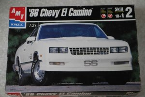 AMT30074 - AMT 1/25 86 El Camino Plus Pack