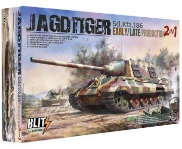 TKM8001 - Takom 1/35 Jagdtiger early/late 2in1