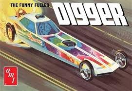 AMT1154 - AMT 1/25 Digger Dragster 'Fooler Fueler'