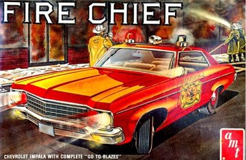 AMT1162 - AMT 1/25 Chevy Impala 'Fire Chief'