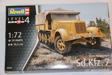 RAG03263 - Revell 1/72 Sd.Kfz.7 Halftrack