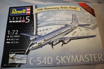 """RAG03910 - Revell 1/72 C-54D """"Berlin Airlift"""""""