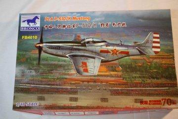 BROFB4010 - Bronco 1/48 PLA P-51D/K Mustang