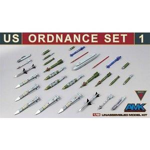 AMK88E01 - AMK 1/48 US Ordnance Set #1