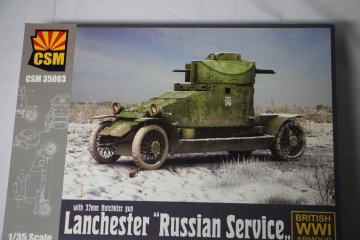 "CSM35003 - Copper State Models 1/35 Lanchester ""Russian Service"""