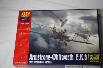 CSMK1031 - Copper State Models 1/48 Armstrong-Whitworth FK8 Late