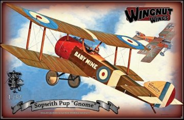"""WNW32055 - Wingnut Wings 1/32 Sopwith Pup """"Gnome"""""""