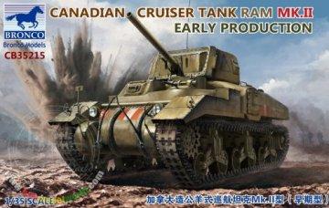 BROCB35215 - Bronco 1/35 Canadian Ram Mk.II Cruiser Tank