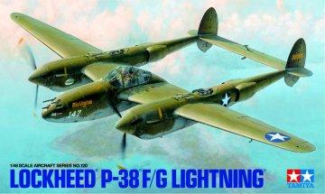 TAM61120 - TAMIYA 1/48 LOCKHEED P38 F/G LIGHTNING