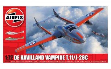 AIR02058A - Airfix 1/72 de Havilland Vampire T.11