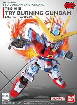 BAN0209066 - Bandai SD Try-Burning Gundam