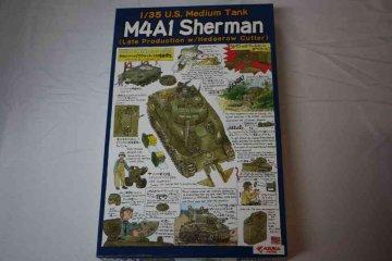 ASU35022 - Asuka Model 1/35 M4A1 Sherman Late w Hedge Cutter