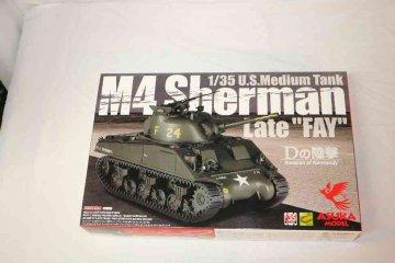 ASU35032 - Asuka Model 1/35 M4 Sherman Late 'FAY'