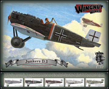 WNW32065 - Wingnut Wings 1/32 Junkers D.1