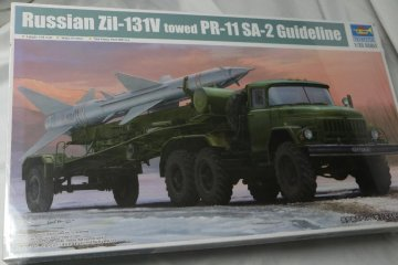 TRP01033 - Trumpeter 1/35 Russian  ZIL-131V towed PR-11 w/SA-2 Guideline