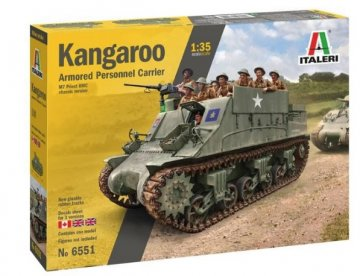 ITA6551 - Italeri 1/35 Kangaroo Armoured Personnel Carrier