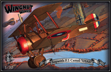 "WNW32072 - Wingnut Wings 1/32 Sopwith F.1 Camel ""USAS"""