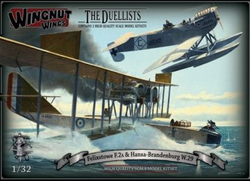 WNW32801 - Wingnut Wings 1/32 The Duellists Felixstowe F.2A & Hansa-Brandenburg W.29