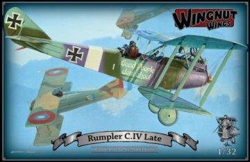 WNW32037 - Wingnut Wings 1/32 Rumpler C.IV Late
