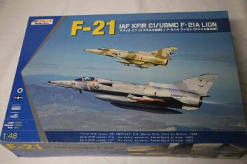 KIN48053 - Kinetic 1/48 F-21 IAF KFIR C1 / USMC F-21A Lion
