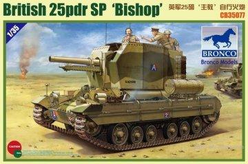 BROCB35077 - Bronco 1/35 Bishop 25pdr SPG