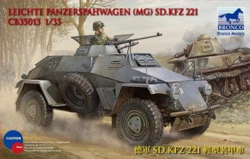 BROCB35013 - Bronco 1/35 Sd.Kfz. 221