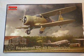 ROD442 - Roden 1/48 Beechcraft UC-43 Staggerwing